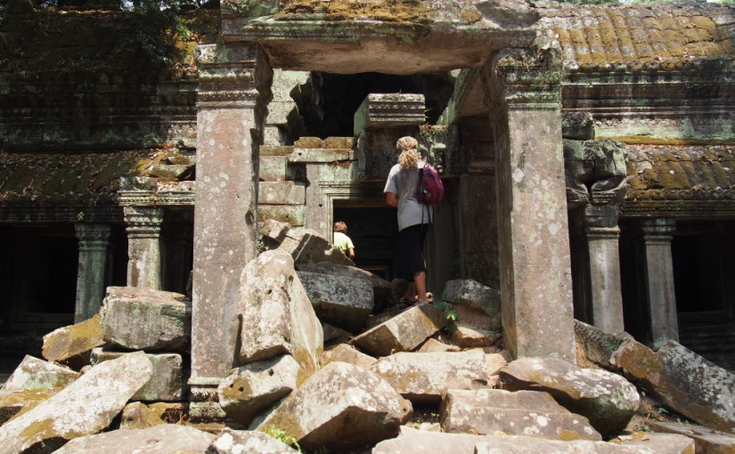 Trip to Angkor Wat.